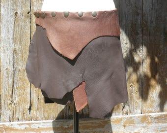 Elvish leather skirt