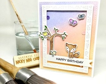 Handmade Card - Happy Birthday