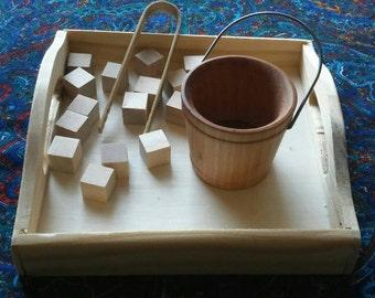 Montessori Fine Motor Work