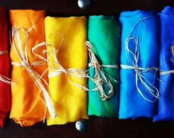 Play Silk, Montessori, Rainbow, Toddler,