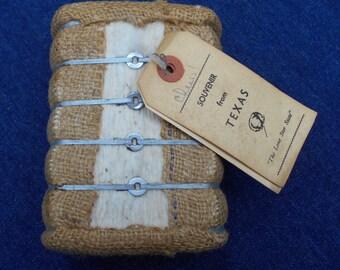 Miniature Bale of Cotton