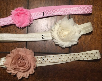 Floral Everyday Headbands for 1 Year-Toddlers, Babies, Girls, Kids, Hair Accessories