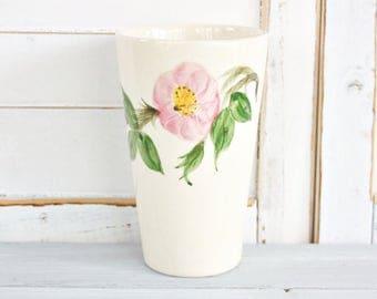 Vintage Franciscan Desert Rose Tumbler | Vintage Tumbler, Floral Tumbler, Desert Rose Cup, Pretty Tumbler, Franciscan Tumbler
