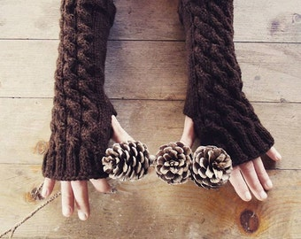 Fingerless gloves | Long Arm Warmers | Gloves | Handmade | Wrist warmers