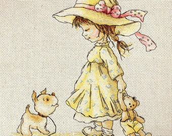 Cross Stitch Kit By Luca-S - Come with me