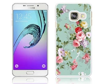 Vintage Rose - Hard Cover for Samsung GALAXY A3, A3 2016, A3 2017, A5, A5 2016, A5 2017 Polycarbonate Case