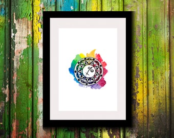 Printable Artwork-Digital Print-Wall Decor-Wall Art-Astrological Sign-Astronomy Decor-Sagittarius Zodiac Print-Zodiac-Astrology Gifts-Gift