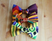 Bowtie- Bow Tie- African Print Bow Tie- Tie- Mens Bowties- Wedding Bow Tie- Neckties