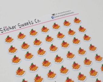 Penne Tomato Pasta Planner Stickers
