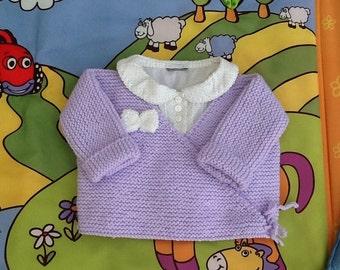 Life jacket baby Cardigan wrap-knitting