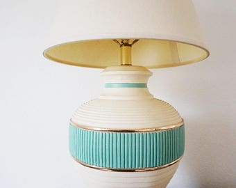 Southwestern Turquoise Table Lamp