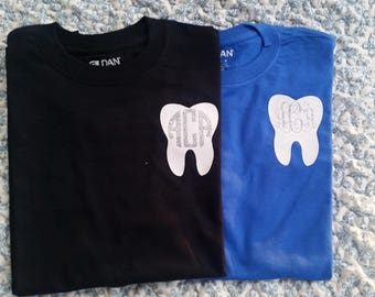 Monogram Dental Shirts