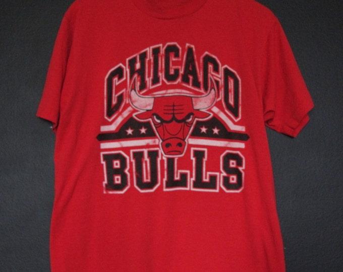 Chicago Bulls NBA 1980s vintage Tshirt