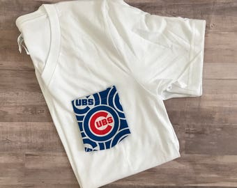 Tshirt with MLB pocket, Chicago Cubs