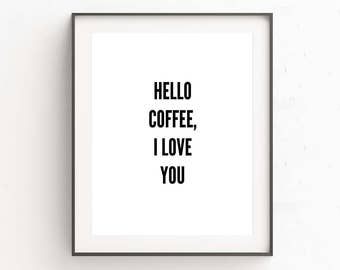 Coffee Sign, Coffee Quotes Funny, Coffee Quote Gifts, Coffee Gifts For Men, Room Decor DIY, Kitchen Decor, Printables, Coffee Gifts For Mom