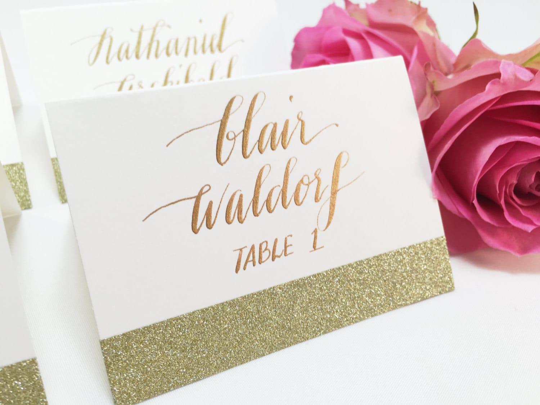 Wedding Place Cards Escort