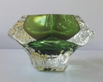 Green Murano Glass Vase '70