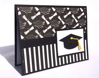 Graduation Card-All Occasion Graduate Card-Congrats Wishes-8th Grade, High School or College Graduation Congrats