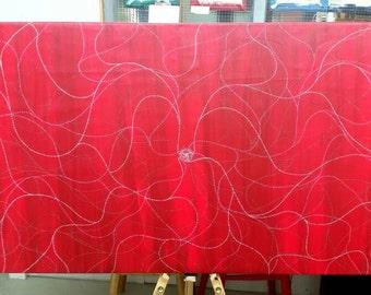 "Original Painting ""Electrified I"""