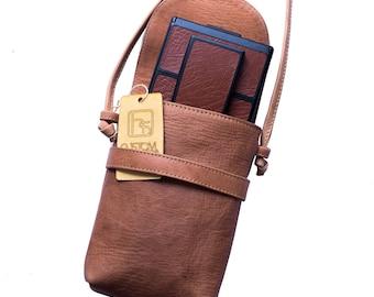 Custom Made Polaroid SX-70 Camera Bag - Genuine Leather - Vintage