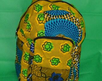 African Mix Print Bag