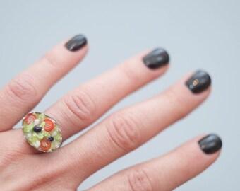 Salad ring