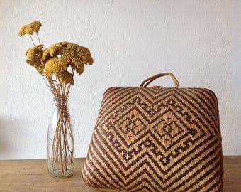 Suitcase ethnic vintage