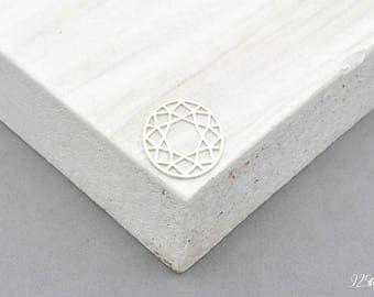 925 Sterling Silver Circle, Circle pendant, Circle charms, silver Circle, Circle, geometric, ring, round, round pendant
