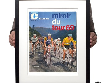 Tour de France 1969 magazine cover print