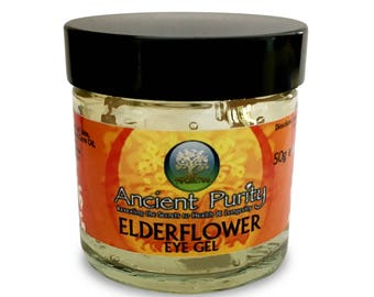 Elderflower Eye Gel - 50ml  cooling and soothing, excellent for puffy and tired eyes.
