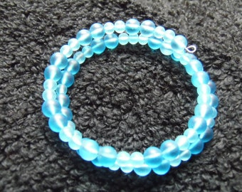 Sea Glass Beaded Bracelet