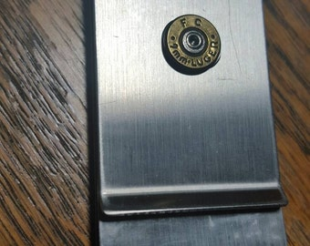 9mm money clip, double sided