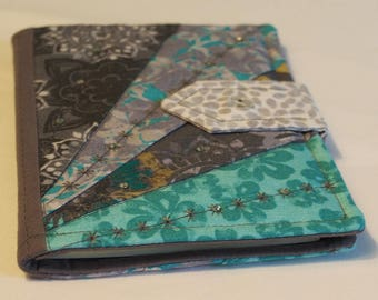 Handmade Patchwork Quilted A6 Notebook