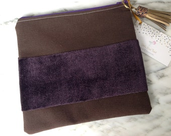 Sophie Clutch, clutch, handbag, tassel, Velvet, cheetah, faux leather