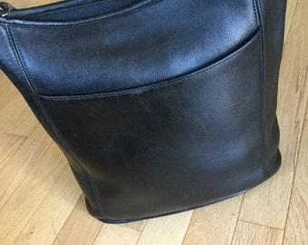 Coach Style 9060 Black Legacy Shoulder Duffle