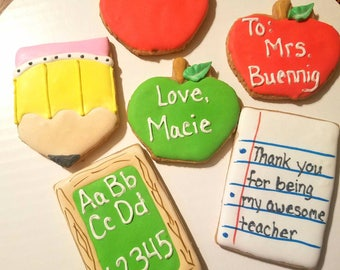 Teacher cookies!