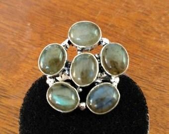 CLEARANCE* Beautiful Labradorite Ring, Size 5.5