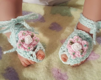 Baby Barefoot Sandals, Boho Barefoot Sandals, Baby Sandals, Boho Sandals, Baby Shoes,