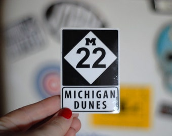 michigan m-22 sticker