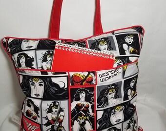 Wonder Woman road trip pillow. Travel pillow. Dc comics