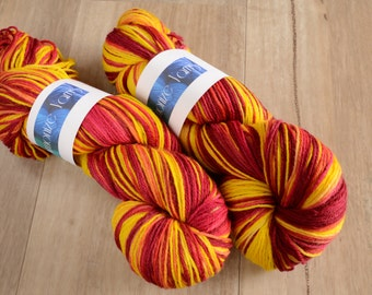 Heat 4 Ply NZ 75/25 Merino/Nylon Sock Yarn