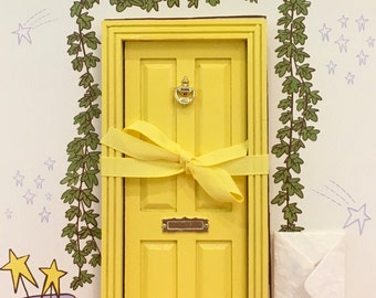 Yellow Magic Fairy Door