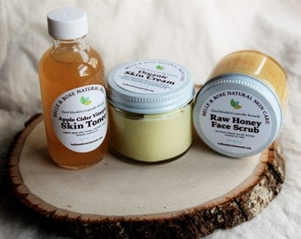 Organic Skin Care Travel Set