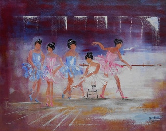 "Painting ""Dancing school"""