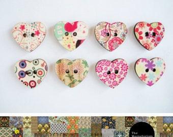 Hearts Fridge Magnet Set