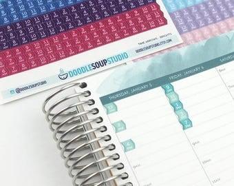 Time Arrows — Planner stickers for Erin Condren Life Planner