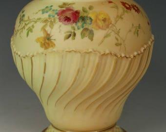 Antique 1897 Royal Worcester 1720 Pot Pourri Jar