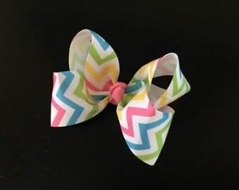 Easter Boutique Hair Bows, Easter Hair Bow,Girls Boutique Bow,Toddlers Hair Bow ,Girls Hair Bow , Baby Headband