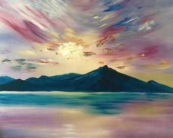 Lake Majesty(48x60)