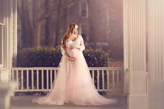 Aurora Tulle Gown Photography Dress By LeahMariaCoutureShop